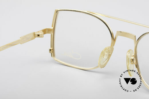 Cazal 242 Tyga Hip Hop Vintage Frame, 130mm frame width = appropriate for small heads, Made for Men and Women