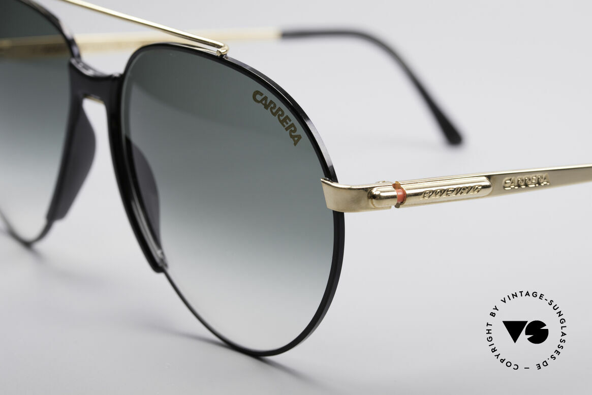 Boeing 5734 Old 80's Sunglasses Aviator, high-end quality & simply precious (gold plated frame), Made for Men and Women