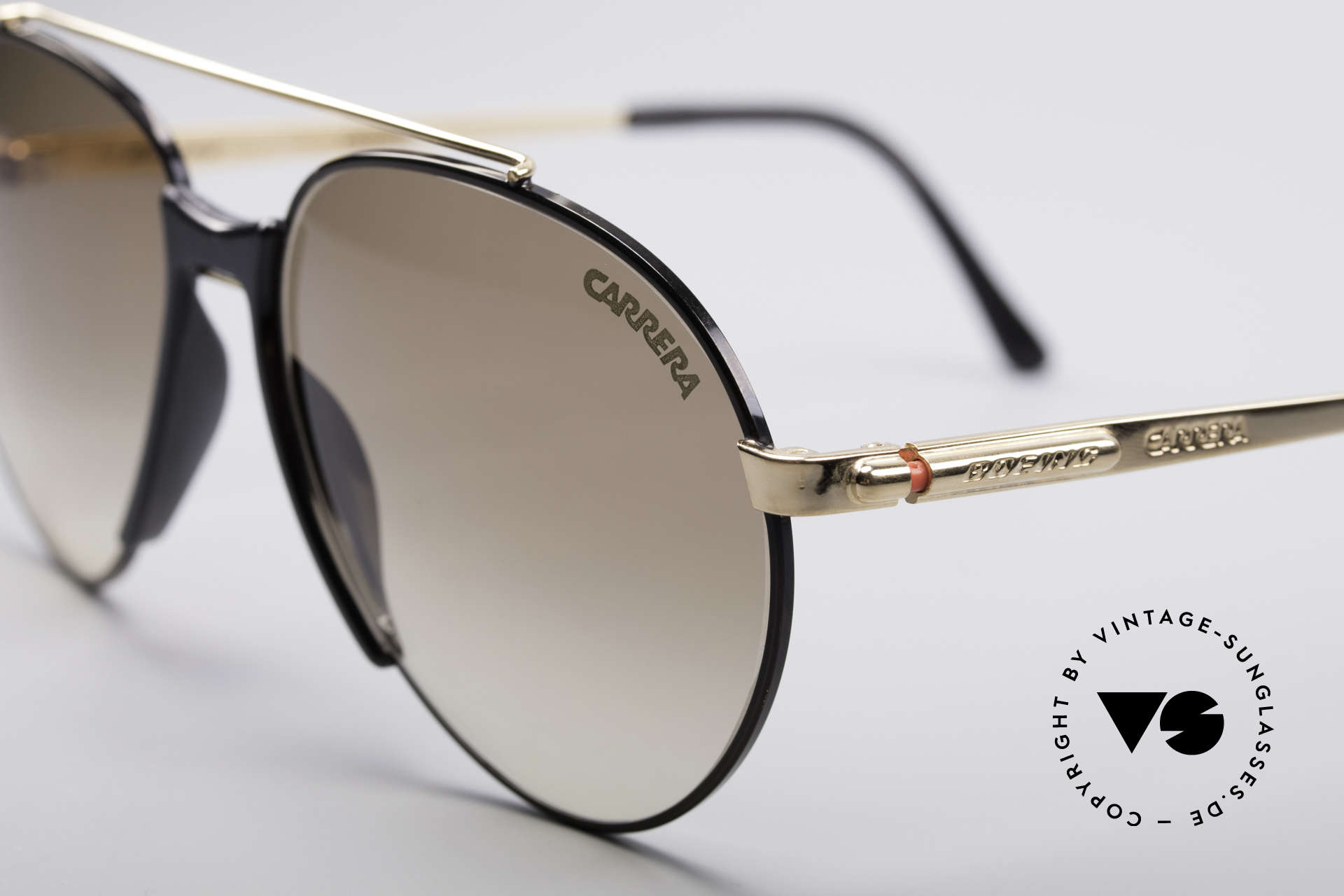 Boeing 5734 Old Glasses 80s Aviator Shades, high-end quality & simply precious (gold plated frame), Made for Men and Women