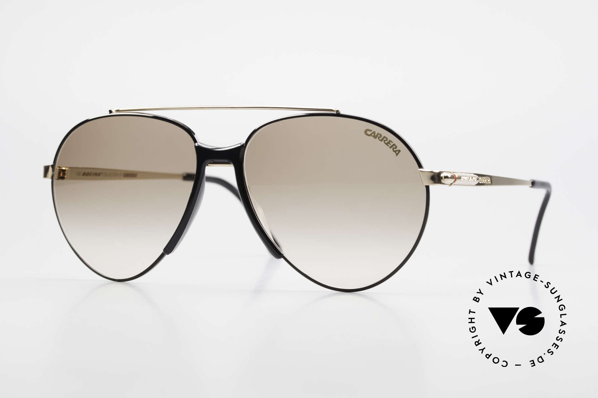 Boeing 5734 Rare 80's Sunglasses Aviator, craftsmanship & design made to Boeing's specifications, Made for Men and Women