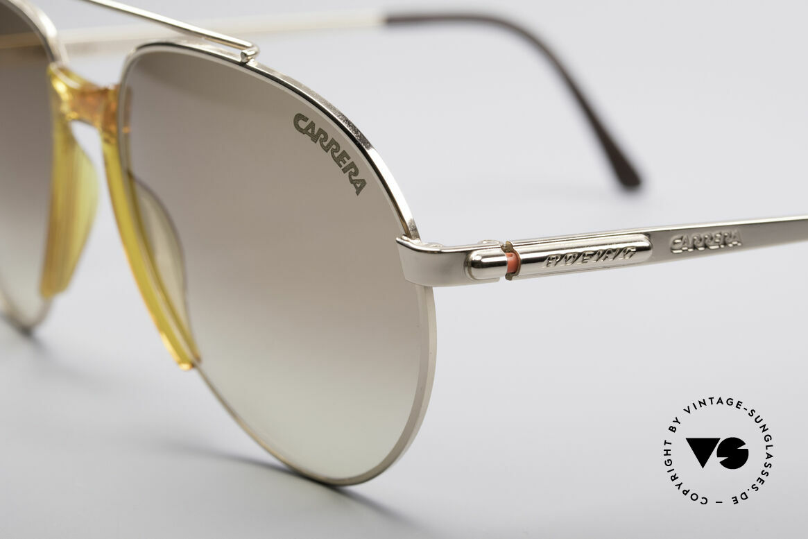 Boeing 5734 Old Glasses Aviator Shades 80s, high-end quality & simply precious (gold plated frame), Made for Men and Women