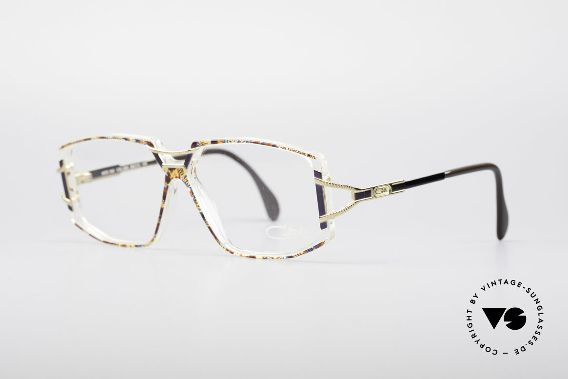 Cazal 362 No Retro 90's Vintage Frame, glamorous combination of materials and colors; fancy!, Made for Women