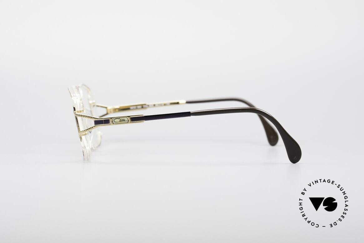 Cazal 362 No Retro 90's Vintage Frame, CAZAL color description: amber-blue / crystal / gold, Made for Women