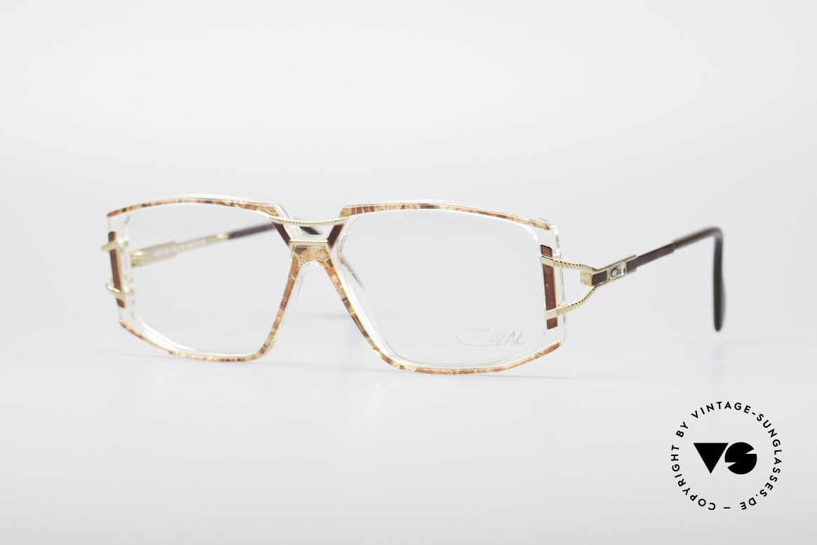 Cazal 362 No Retro 90's Vintage Frame, adorned Cazal eyeglass-frame from the early / mid 90's, Made for Women