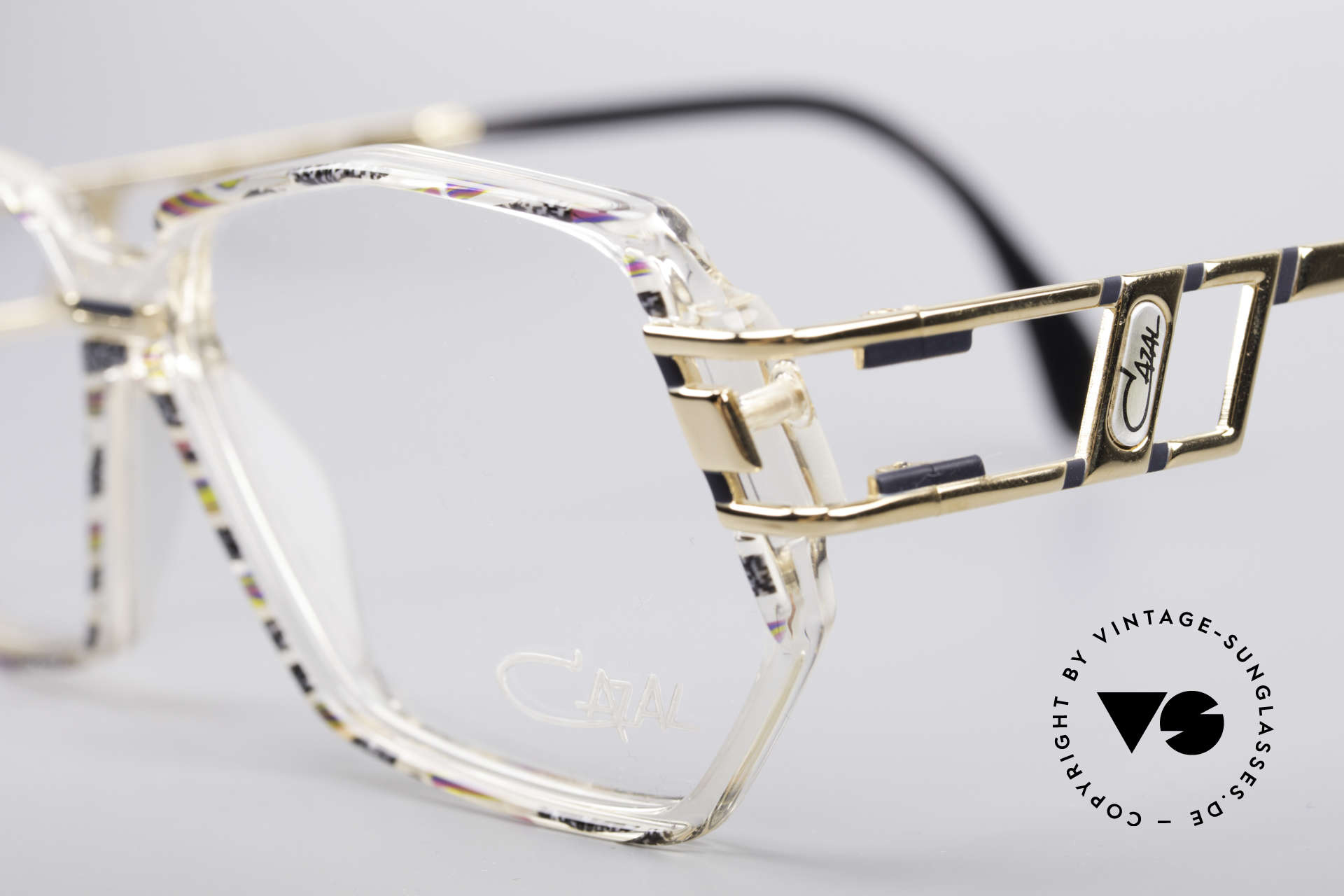 Cazal 359 90's Hip Hop Eyeglasses, unworn, NOS (like all our rare vintage CAZAL eyewear), Made for Women