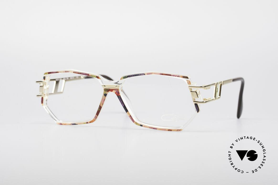 Cazal 359 90's Hip Hop Eyeglasses, vintage Cazal designer eyeglass-frame in M size 56/12, Made for Women