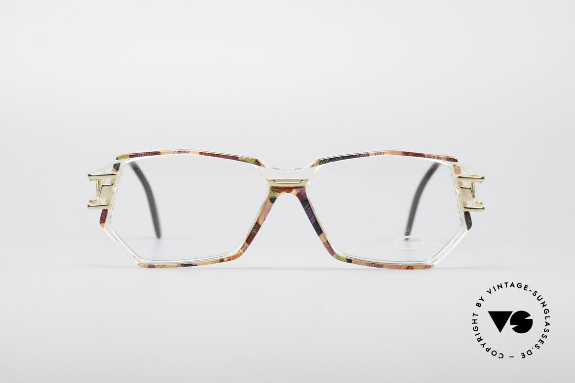 Cazal 359 90's Hip Hop Eyeglasses, striking frame construction & remarkable color concept, Made for Women