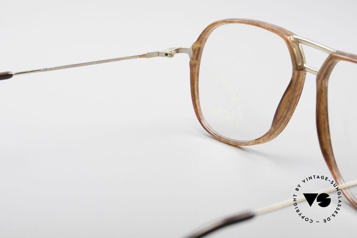 Metzler 0664 80's En Vogue Vintage Glasses