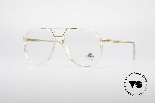 Metzler 0663 80's En Vogue Eyeglasses Details