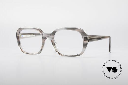 Metzler 4320 Xlarge 70's Men's Glasses Details