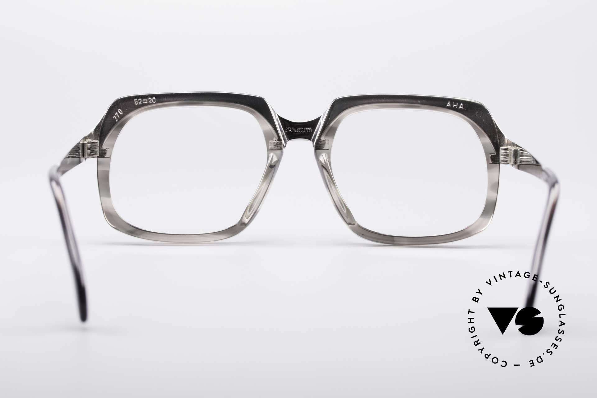 Metzler 6546 True Vintage No Retro Frame, the frame is made for lenses of any kind (optical / sun), Made for Men