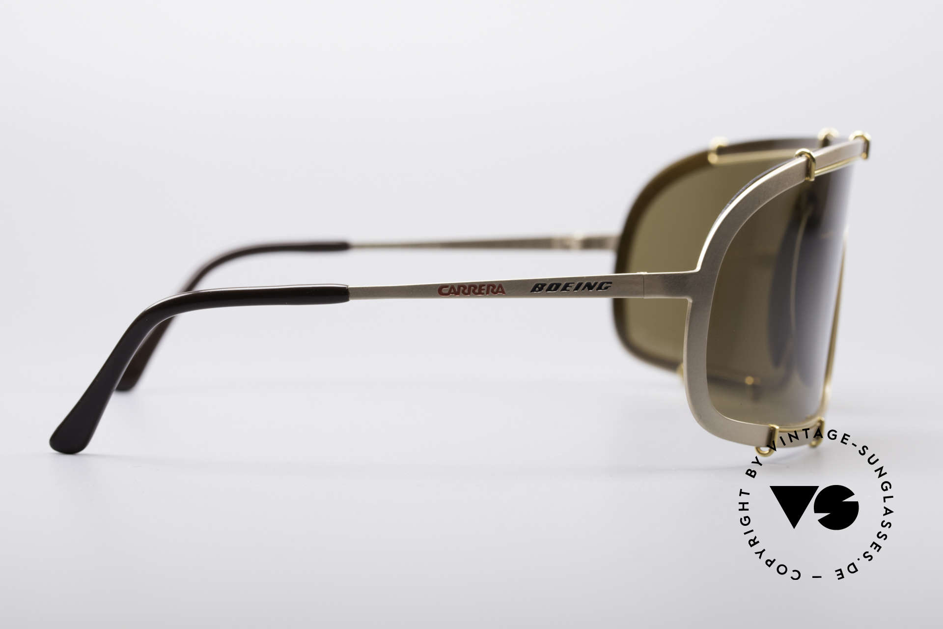 Boeing 5708 80's Luxury Pilots Shades, unworn vintage vertu (comes with a Cavalli hard case), Made for Men