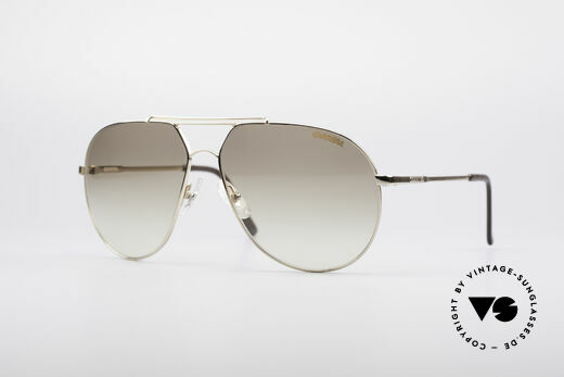 Carrera 5421 90's Aviator Sunglasses Details