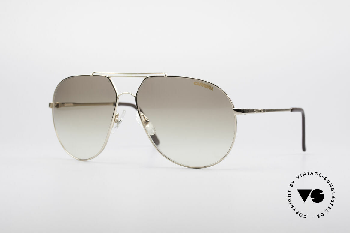 Carrera 5421 90's Aviator Sunglasses, precious CARRERA vintage sunglasses from the 1990's, Made for Men