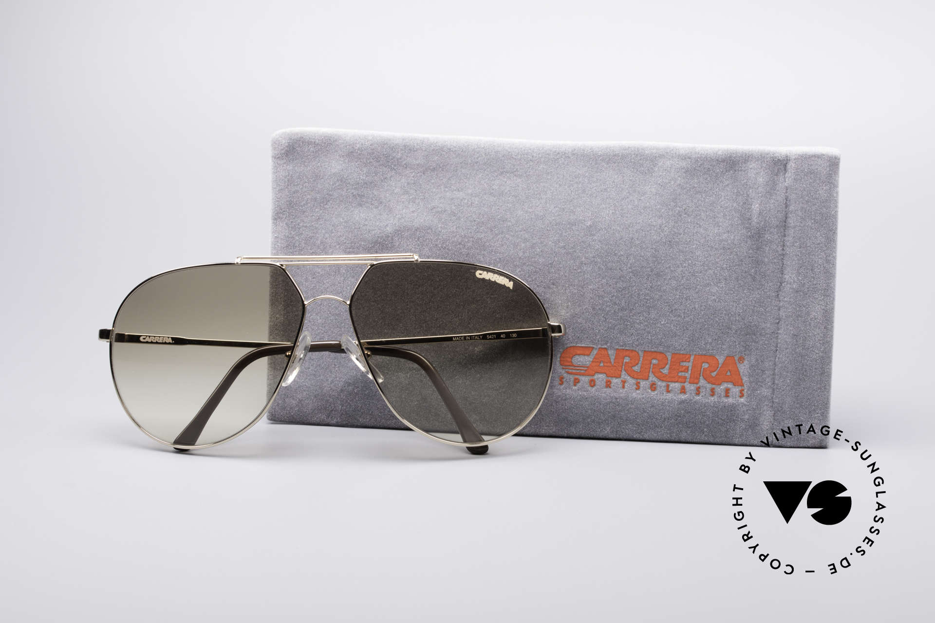 Carrera 5421 90's Aviator Sunglasses, NO RETRO SUNGLASSES; but an old Carrera ORIGINAL, Made for Men