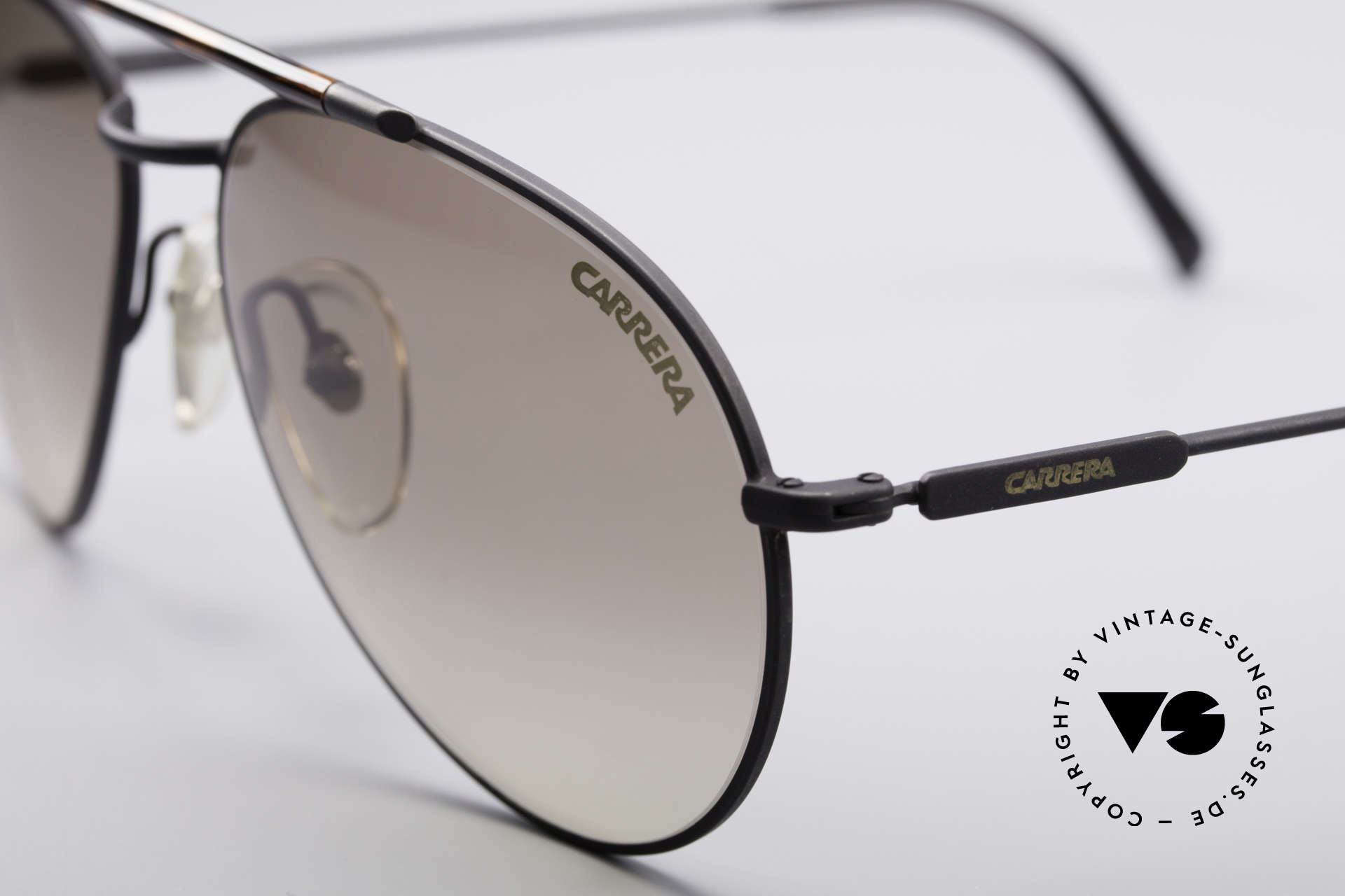 Carrera 5349 True Vintage 80's Shades, brown-gradient Carrera lenses (100% UV protection), Made for Men