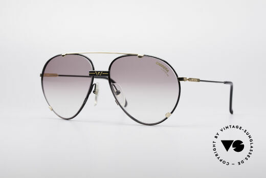 Carrera 5463 90's Vintage Aviator Shades Details