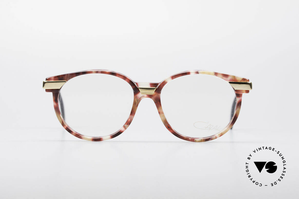 Cazal 338 Small Round Vintage Frame, timeless design and best quality in SMALL size 49/15, Made for Men and Women