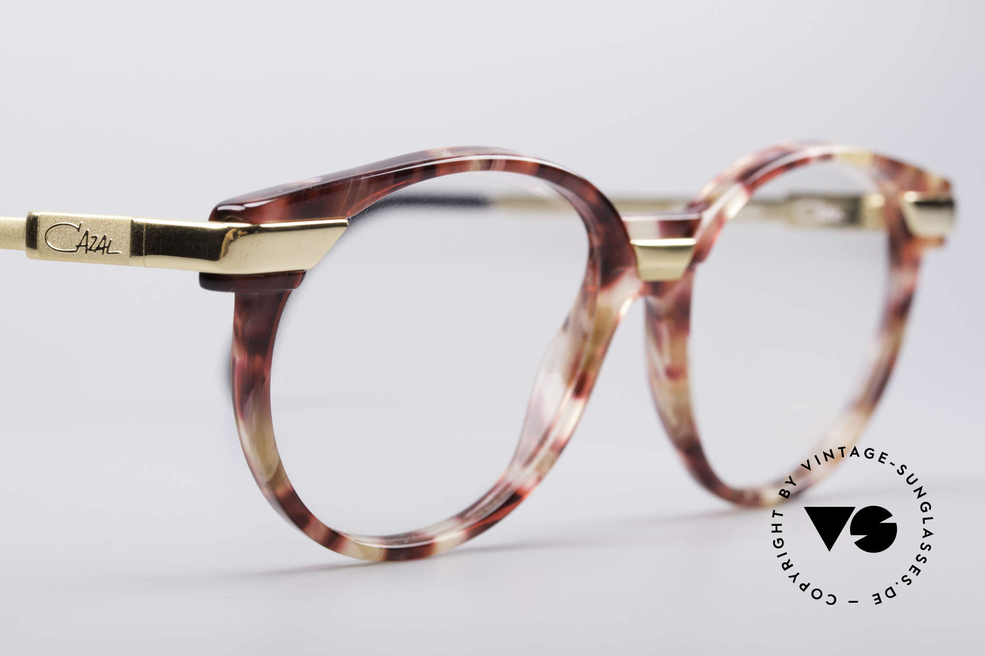 Cazal 338 Small Round Vintage Frame, NO retro eyeglasses, but an app. 25 years old original, Made for Men and Women