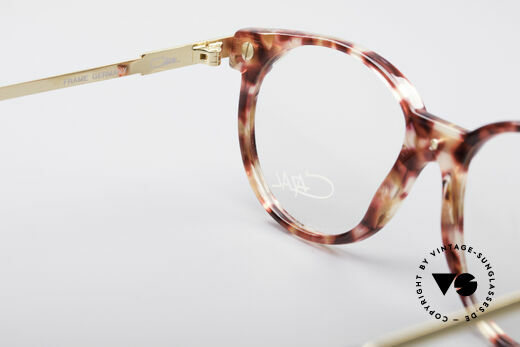 Cazal 338 Small Round Vintage Frame, the clear Cazal demo lenses can be replaced optionally, Made for Men and Women