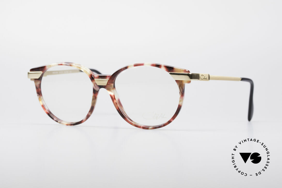 Cazal 338 Round 90's Vintage Frame, small round Cazal vintage glasses from the early 90's, Made for Men and Women