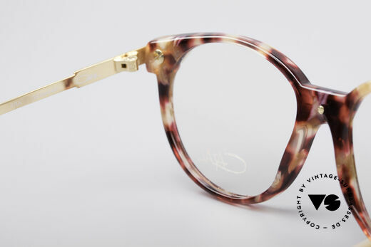 Cazal 338 Round 90's Vintage Frame, the clear Cazal demo lenses can be replaced optionally, Made for Men and Women