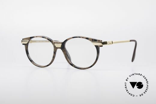 Cazal 338 Small Round Vintage Frame Details