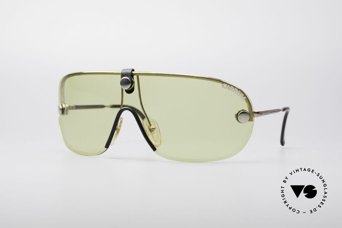 Carrera 5418 All Weather Sunglasses, vintage Carrera sport's sunglasses from the early 1990's, Made for Men