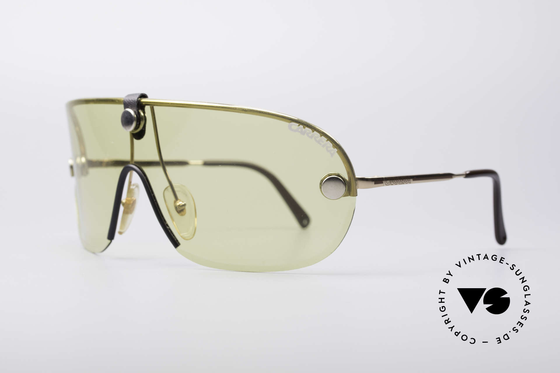 Carrera 5418 All Weather Sunglasses, yellow (kalichrome) intensify light and increase contrast, Made for Men