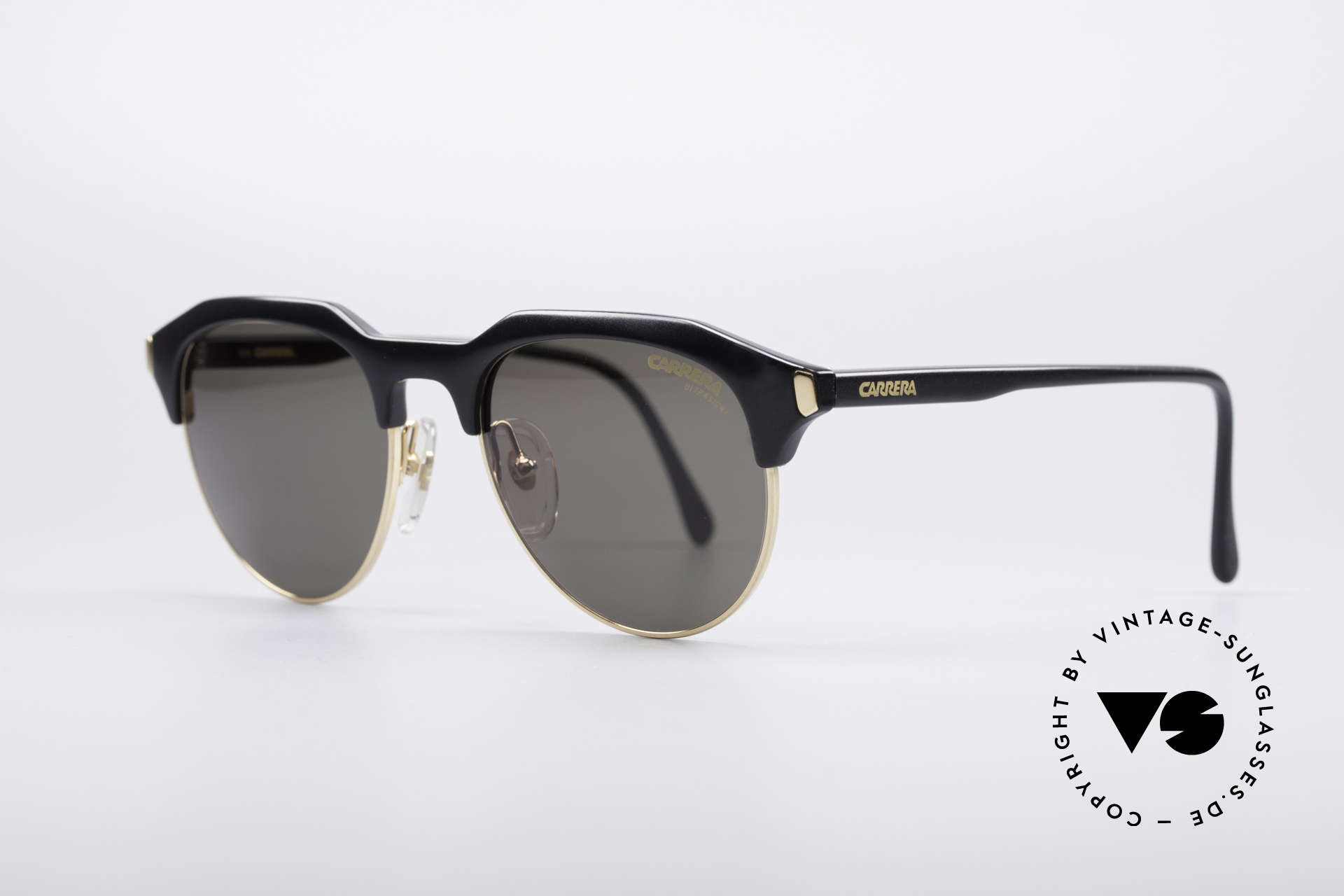 Carrera 5475 Vintage Panto Sunglasses, distinctive frame design and high-end Optyl quality, Made for Men