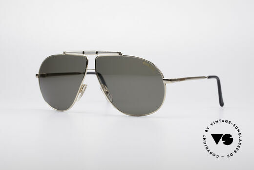 Carrera 5401 80's Aviator Sunglasses Details
