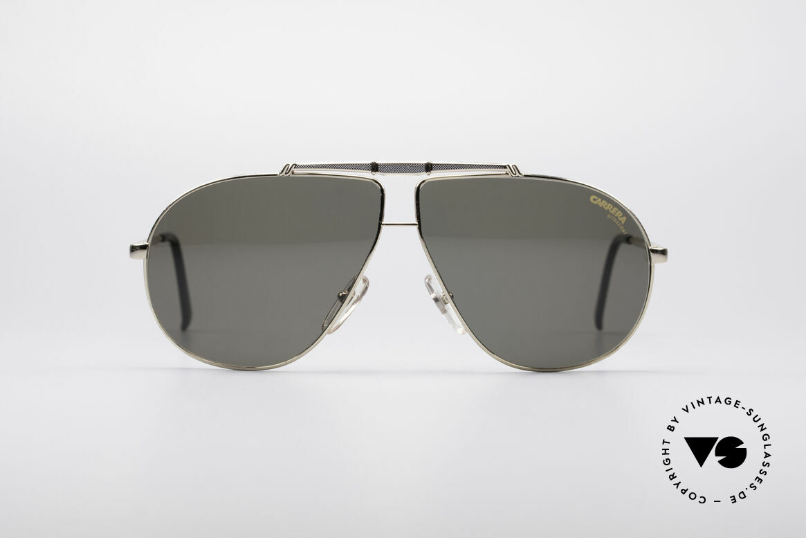 Carrera 5401 80's Aviator Sunglasses, precious 1980's CARRERA vintage aviator sunglasses, Made for Men
