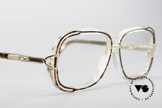 Cazal 320 80's West Germany Frame, demo lenses should be replaced with optical lenses, Made for Women