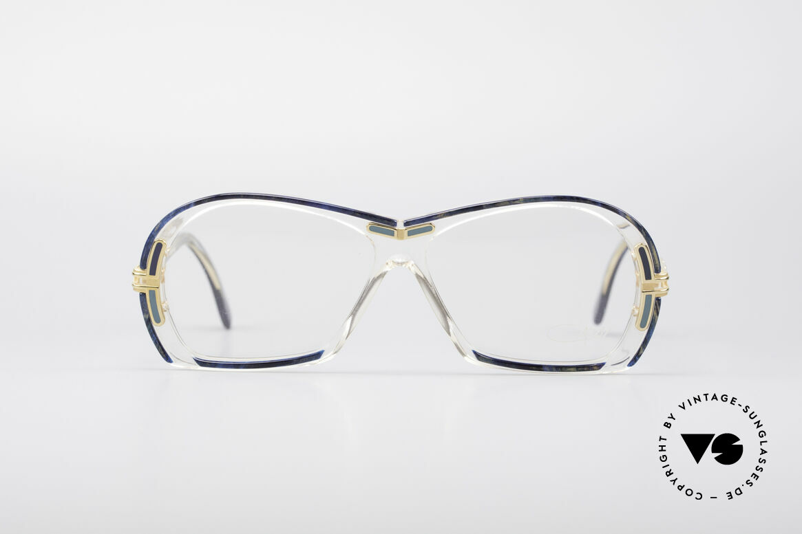 Cazal 314 80's True Vintage Glasses, brilliant CAZAL vintage eyeglass-frame from 1987, Made for Women