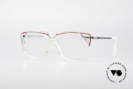 Cazal 342 90's Designer Glasses Details