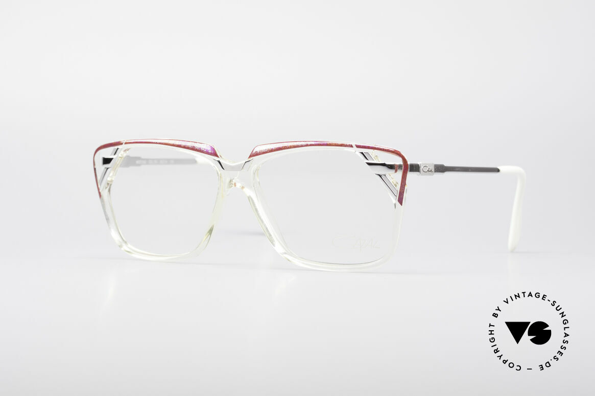 Cazal 342 90's Designer Glasses, extraordinary Cazal design of the early 90's, Made for Women