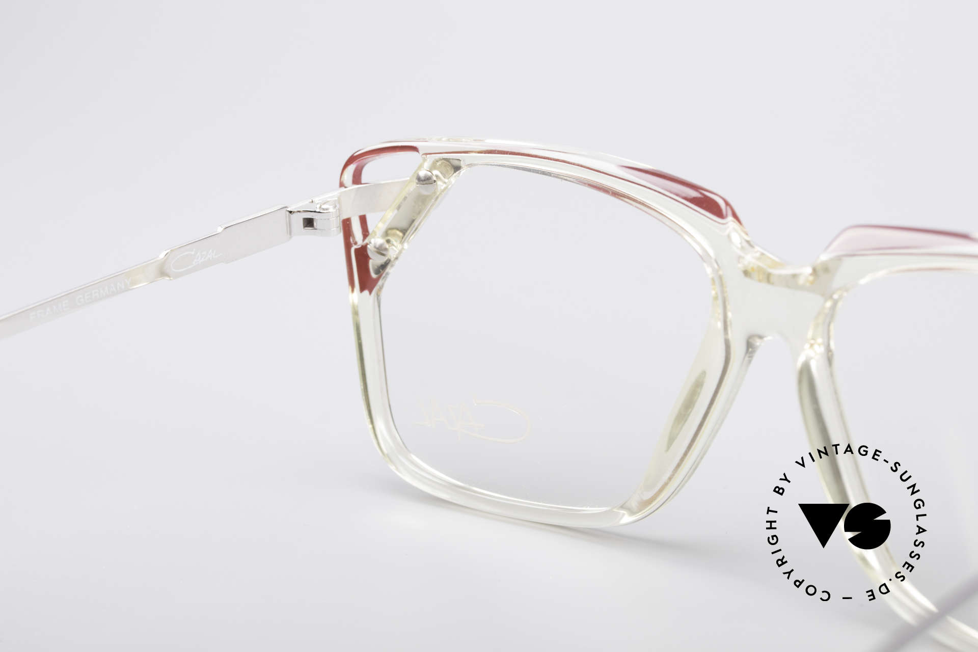 Cazal 342 90's Designer Glasses, frame can be glazed with lenses of any kind, Made for Women