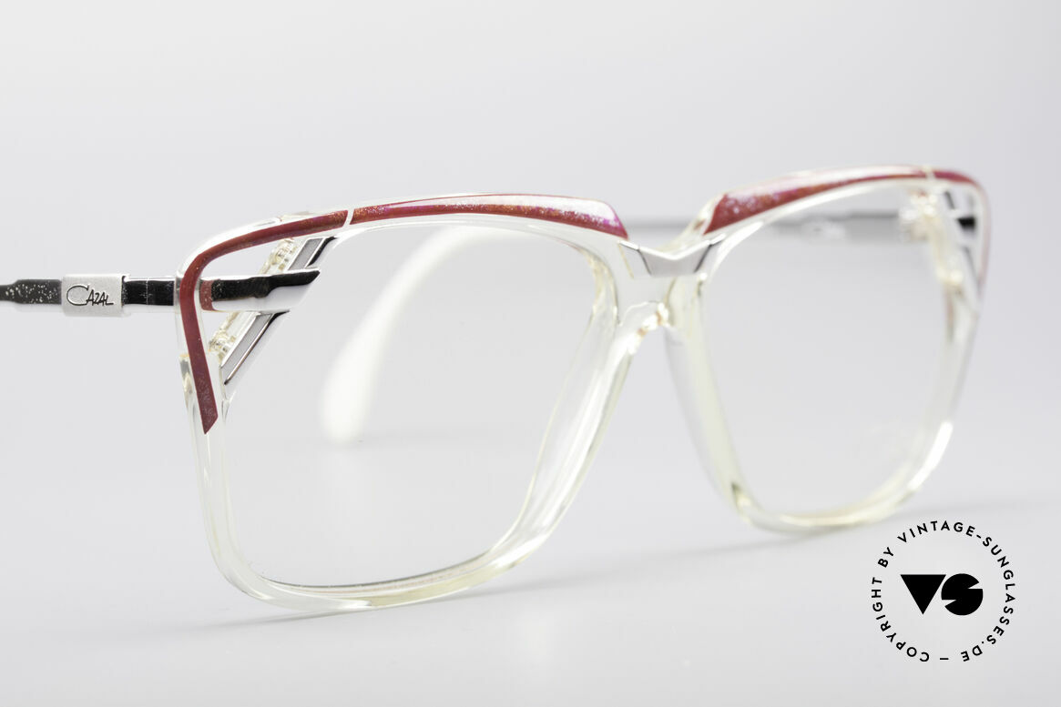 Cazal 342 90's Designer Glasses, NO RETRO glasses, but a rare old ORIGINAL!, Made for Women