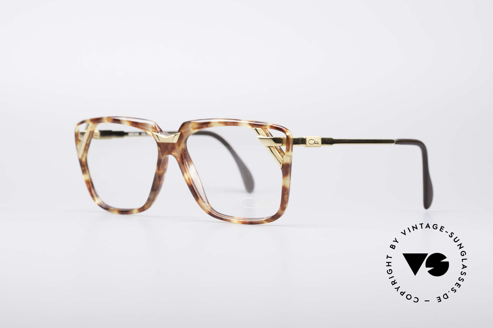 Cazal 342 90's Designer Glasses, unique combination of colors and materials, Made for Women