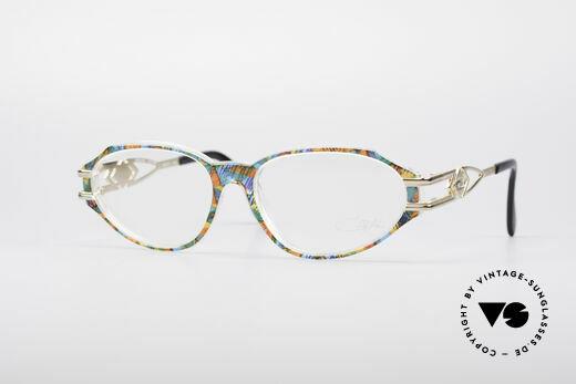Cazal 356 90's Vintage Designer Frame Details