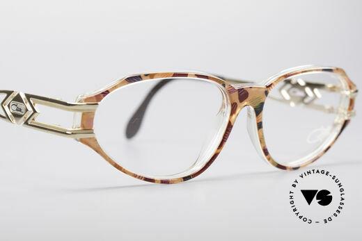 Cazal 356 90's Vintage Designer Frame, the frame (medium size 54/16) can be glazed optionally, Made for Women