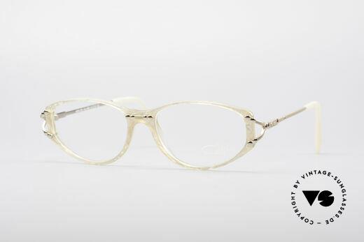 Cazal 375 Vintage Pearl Glasses Details