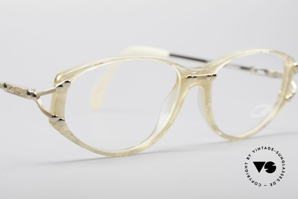 Cazal 375 Vintage Pearl Glasses, NO RETRO GLASSES, but an app. 20 years old rarity, Made for Women