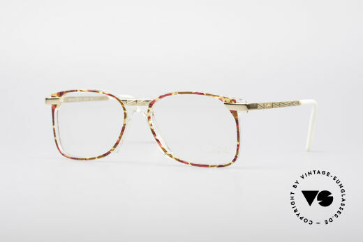 Cazal 341 Vintage No Retro Glasses 90s Details