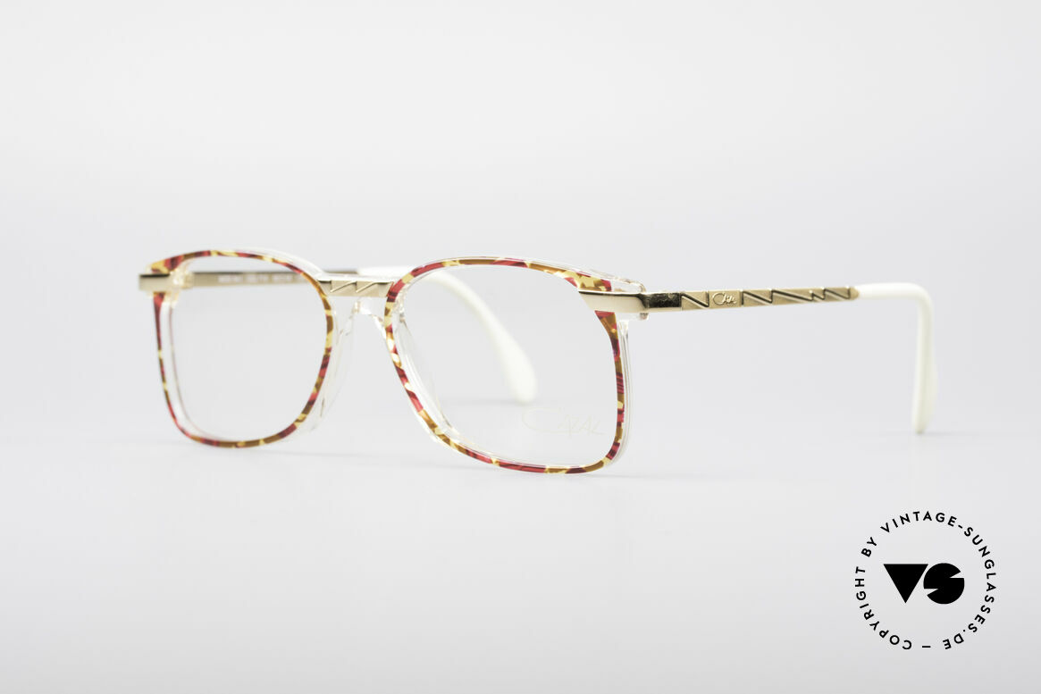 Cazal 341 Vintage No Retro Glasses 90s, ingenious wearing properties and frame stability, Made for Women