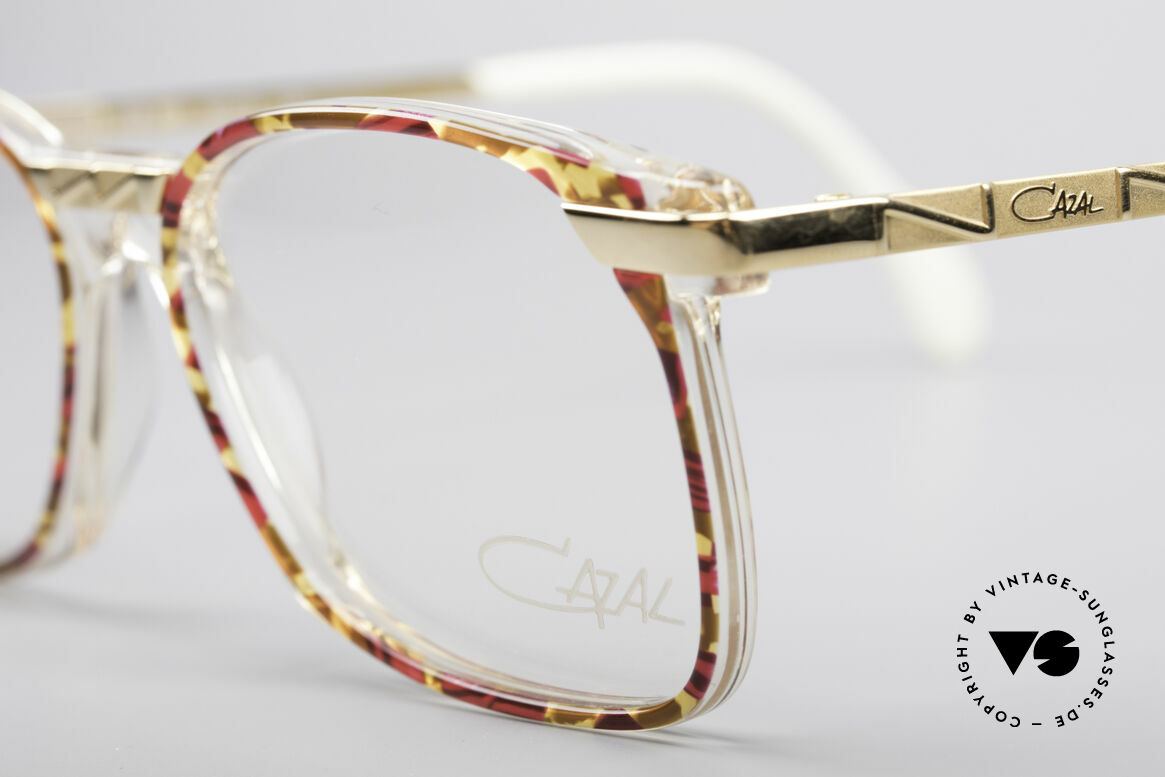 Cazal 341 Vintage No Retro Glasses 90s, never worn (like all of our vintage Cazal eyeglasses), Made for Women