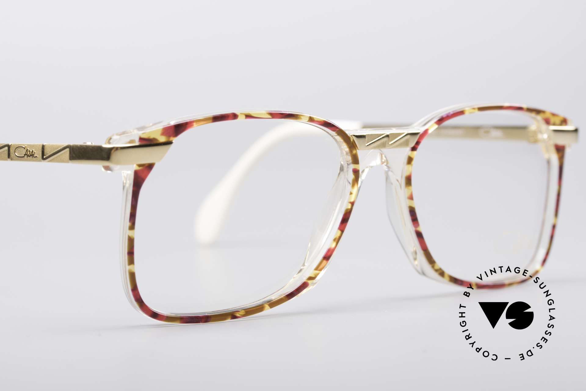 Cazal 341 Vintage No Retro Glasses 90s, the original DEMO lenses can be replaced optionally, Made for Women