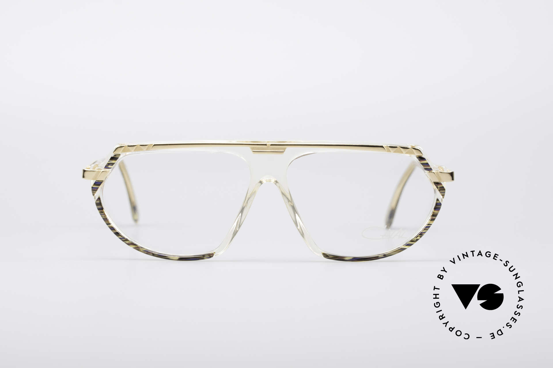Cazal 344 Old School Crystal Glasses, vintage CAZAL designer eyeglasses from 1989/1990, Made for Women