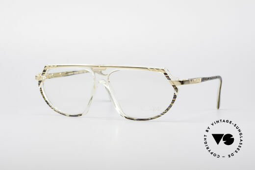 Cazal 344 Old School Crystal Glasses Details
