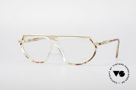 Cazal 344 Old School Crystal Glasses Details